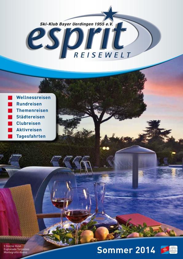 Esprit Reisewelt 2014